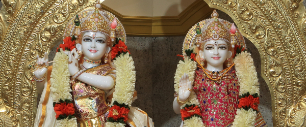 Radha Krishna Abhishekam - Saturday May 18th 10:00 AM