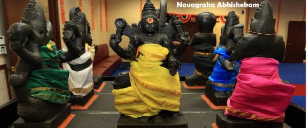 Navagraha Abhishekam - Saturday Nov. 24th 10:15 AM